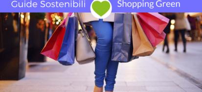 Consigli ecosostenibili: idee per uno shopping green