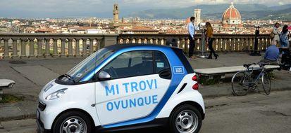A Firenze il servizio di car sharing si fa in tre