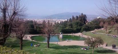 A Firenze un oceano verde ricco di fascino e storia