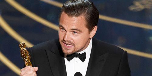 Il discorso di Leonardo DiCaprio agli Oscar 2016