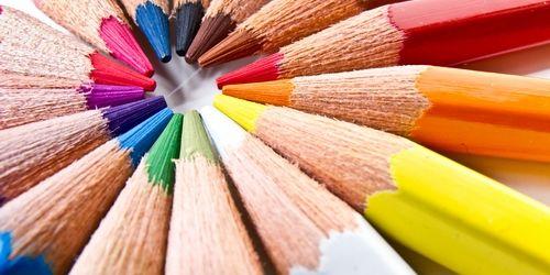 Riciclo matite colorate