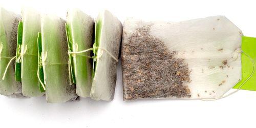 10 modi per riciclare le bustine di tè