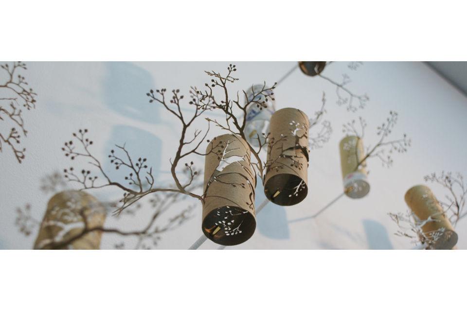 Arte Con Rotoli Di Carta Igienica : Boschi di carta igienica ecosost vivere sostenibile