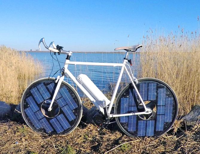 Le Biciclette Elettriche A Energia Solare Ecosost Vivere