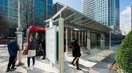 pensilina solare per autobus