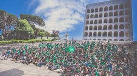 Green Skate Day Roma