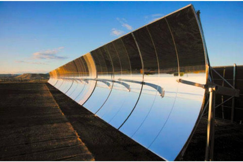 Archimede la centrale solare termodinamica siciliana - Lo specchio retrovisore centrale ...