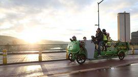 scuolabus a pedali
