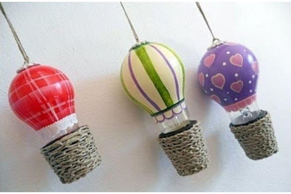 lampadine ad incandescenza: 6 suggerimenti per riciclarle ... - Lampade Riciclo Creativo