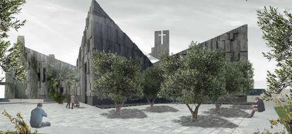 Il progetto della nuova chiesa