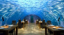 Maldive: arriva il primo ristorante sui fondali