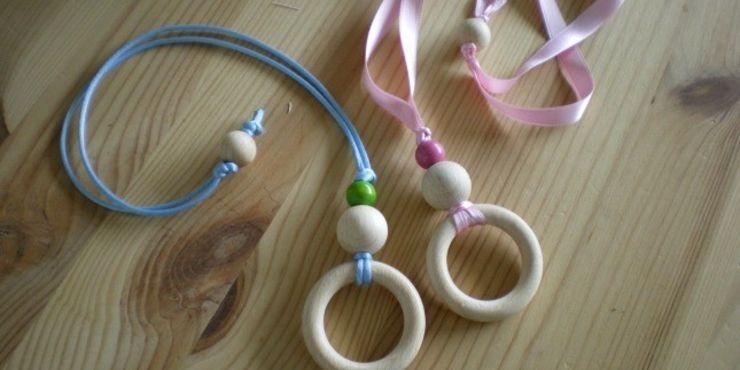 Come realizzare una nursing necklace in 5 mosse