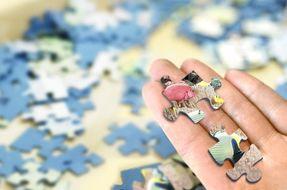 5 modi per riciclare le tessere dei puzzle