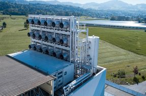 In Svizzera il primo impianto al mondo che trasforma CO2 in fertilizzante