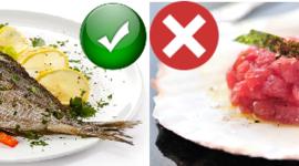 #failasceltagiusta: i pericoli del pesce crudo