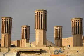 Le torri del vento di Yazd, un esempio da non perdere