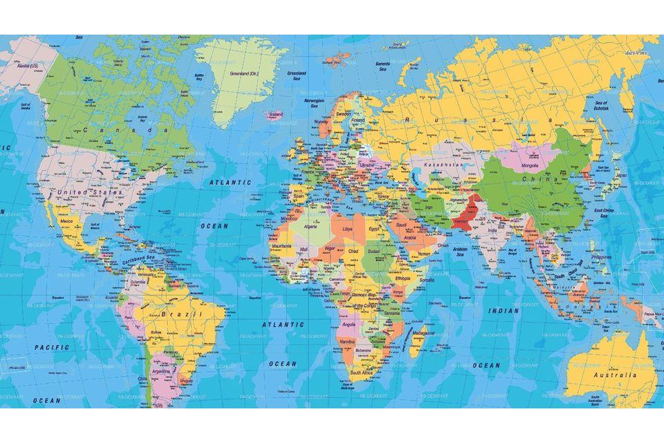 Mappa Mondo Cartina.10 Mappe Per Cambiare La Vostra Visione Del Mondo Ecosost Vivere