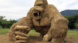 Giappone: 7 straordinarie sculture di paglia di riso