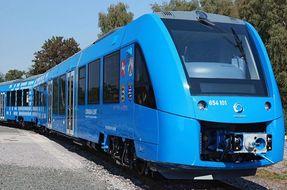 Il primo treno a idrogeno è finalmente realtà