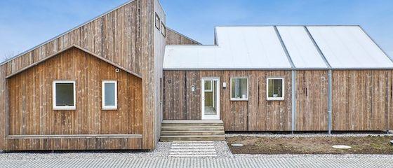 Danimarca: la casa biologica costruita con scarti agricoli