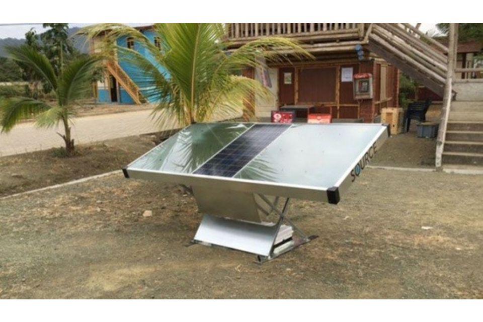 Pannello Solare Quanto Produce : Source il pannello solare che produce acqua ecosost