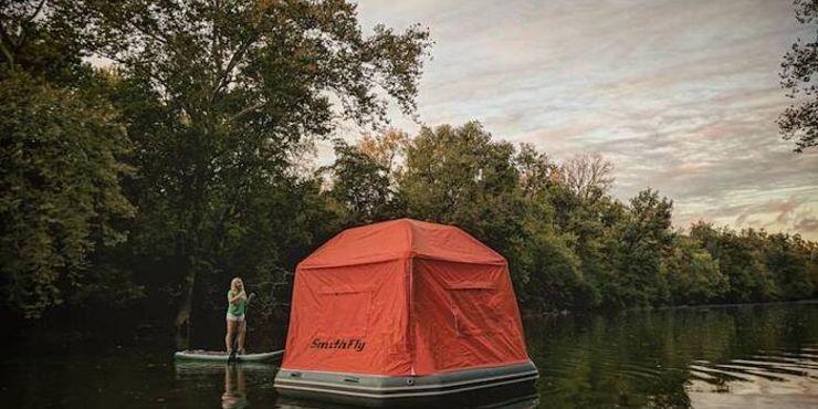 Una tenda speciale per gite speciali