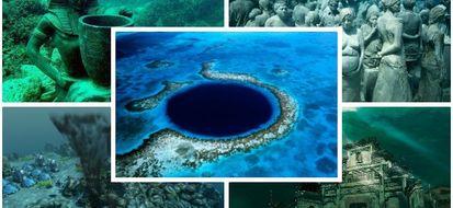 6 meraviglie nascoste sott'acqua