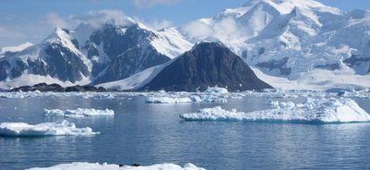 neve e ghiaccio Polo nord