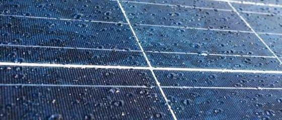 Pannelli solari che funzionano sotto la pioggia? Adesso sì