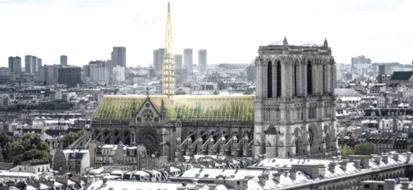 Notre Dame: presentato il progetto green per il restauro