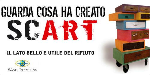 SCART: 100% arte riciclata_ecosost