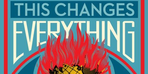 "Locandina del film ""This changes everything""."