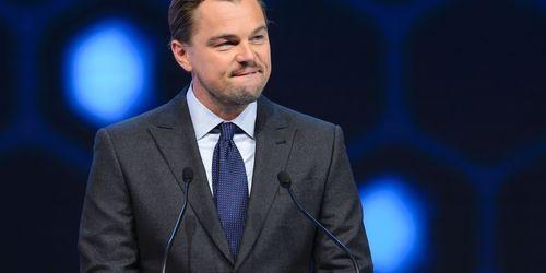 Leonardo DiCaprio Davos