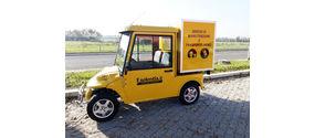 Melex 381 Box Van