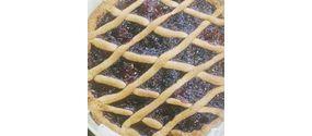 Crostata vegan con marmellata di ciliegia