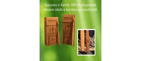 Spazzolino bambù biodegradabile
