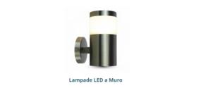 Lampade LED a muro
