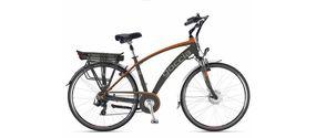 Bicicletta Elettrica a pedalata assistita Holiday M28' Goccia nera