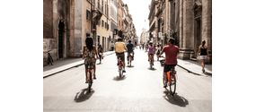Tour di Roma in bici