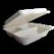 Scatola Quadrata bio 3 scomparti con coperchio incernierato