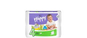 Pannolini Happy senza derivati dal petrolio