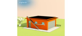 Garage prefabbricasa