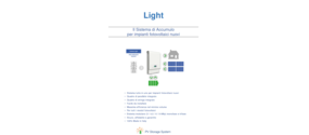 Kit Accumulo Fotovoltaico PV Storage System Light