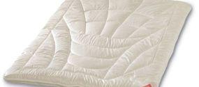 Piumini letto in fibre naturali