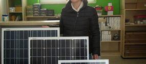Moduli fotovoltaici 12V di media potenza
