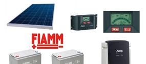 Kit solare fotovoltaico autonomo 1000 Watt