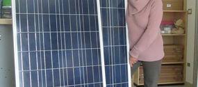 Moduli fotovoltaici 12V di potenza