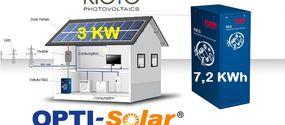 Kit solare fotovoltaico autonomo/ibrido 4000 Watt
