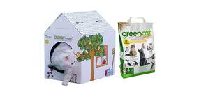 Lettiera compostabile per gatti
