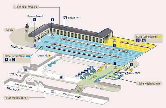 plan-acces-interieur-et-exterieur-paris-gare-de-lyon